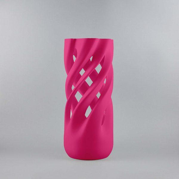 Abbracciame 3D printed vase pink